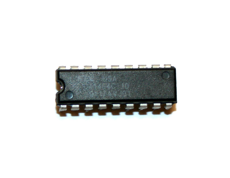 IC, D41464C-10 DRAM chip