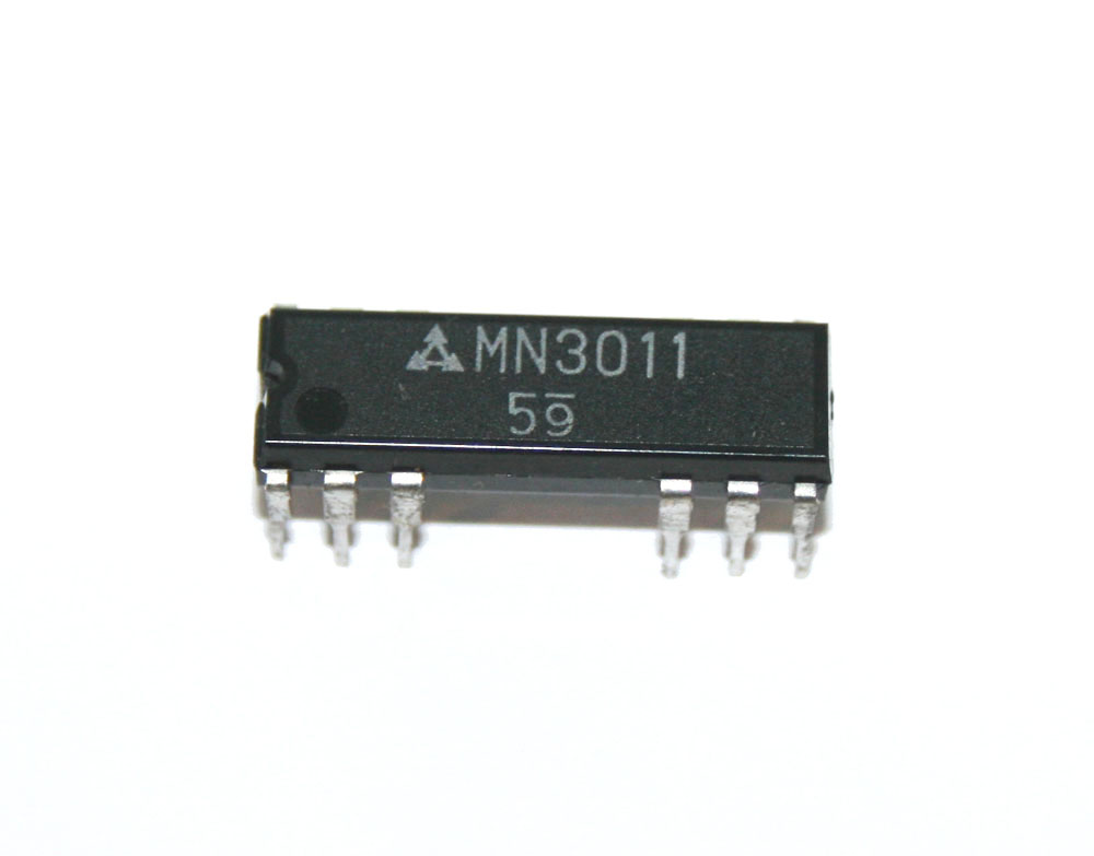 IC, MN3011 BBD chip