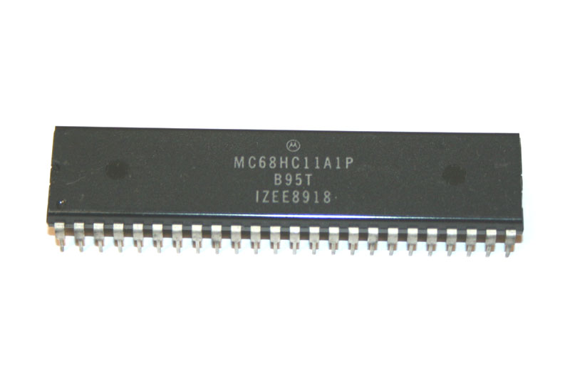 IC, 68HC11A1P microcontroller