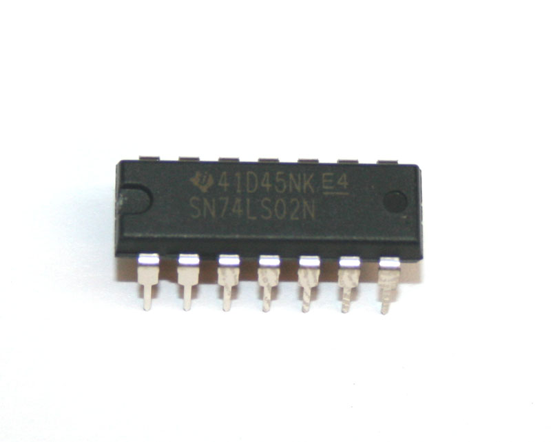 IC, 74LS02 quad NOR gate
