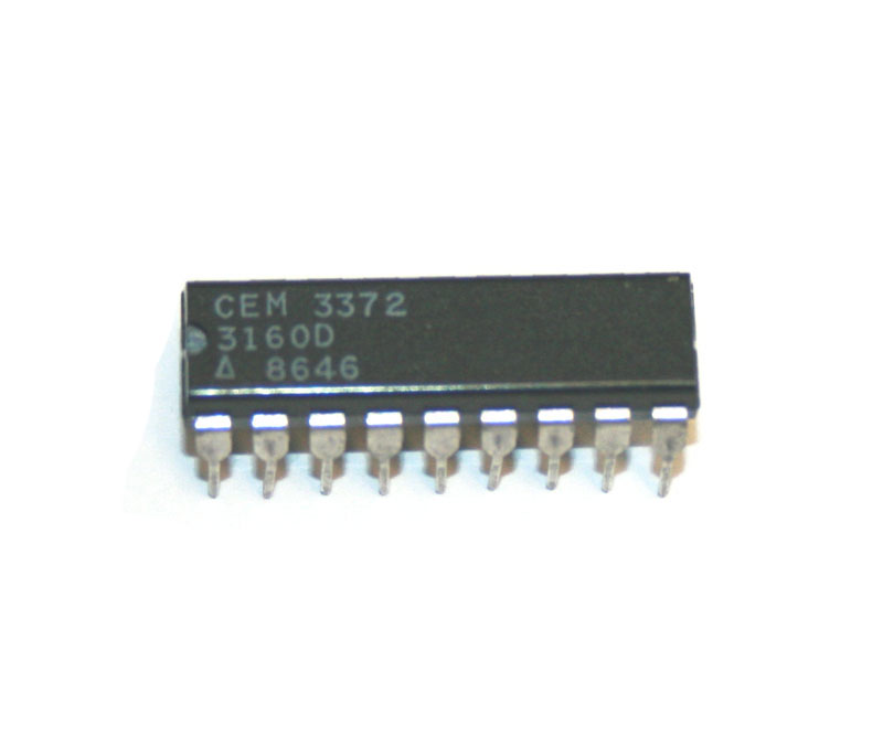 IC, CEM3372 VCF/VCA chip