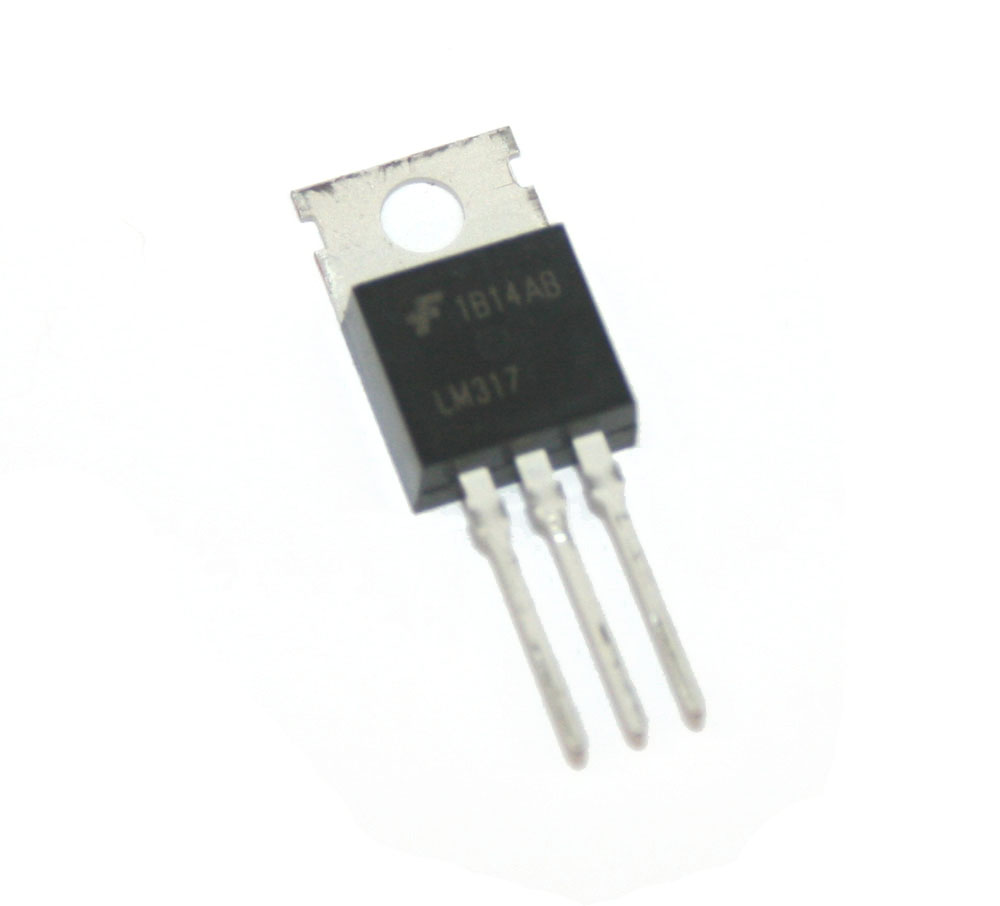 Voltage regulator, LM317