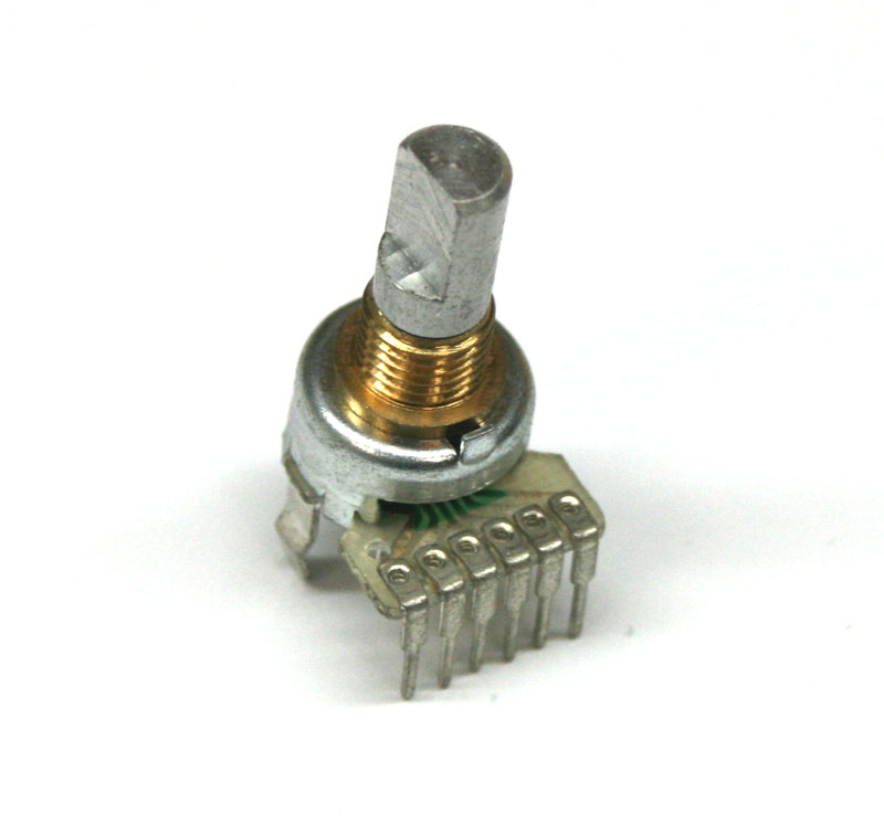 Potentiometer, 5KBx2 rotary