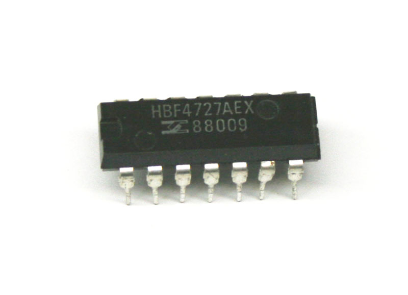 IC, HBF4727AE frequency divider