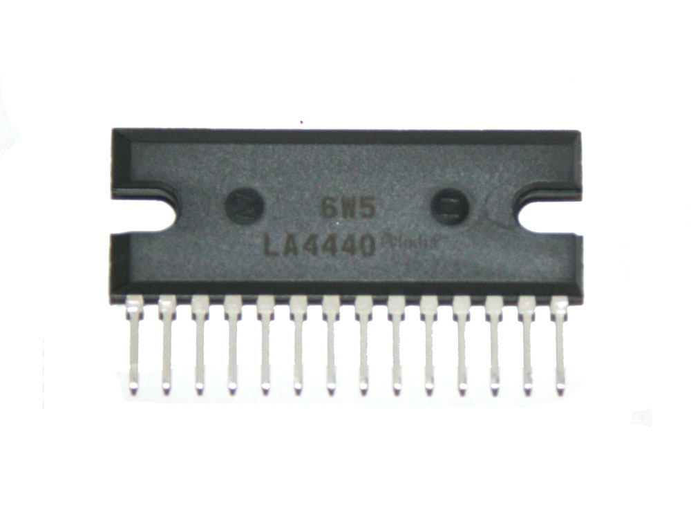 IC, LA4440 audio amplifier