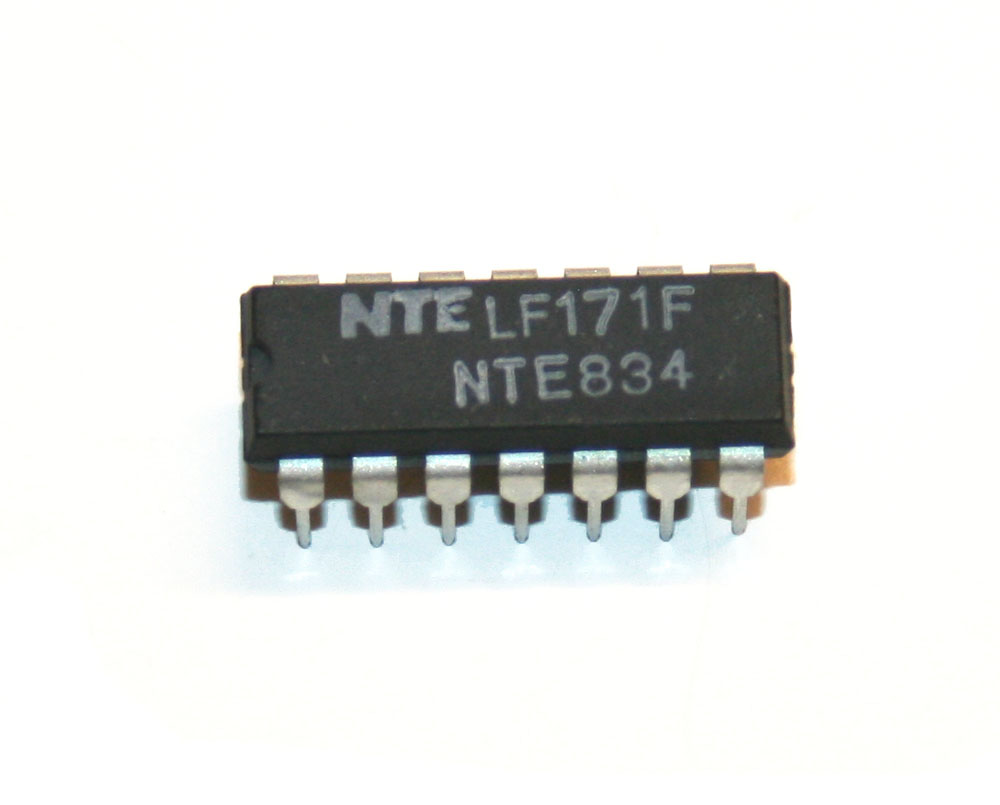 IC, NTE834 quad comparator