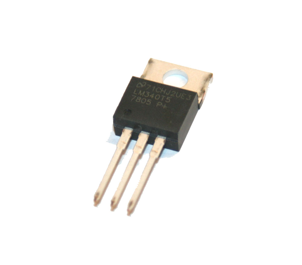Voltage regulator, LM340T