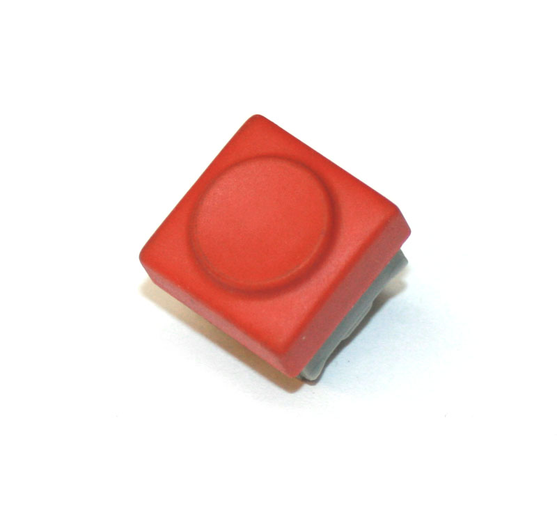 Panel switch, red