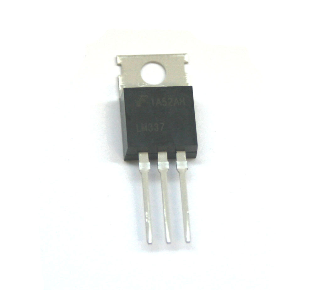 Voltage regulator, LM337