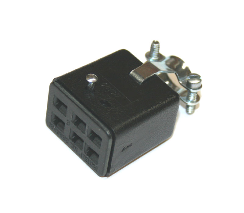Connector, 6-pin female