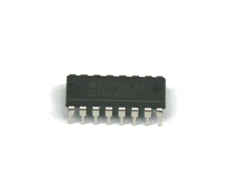 IC, 74HC4051E multiplexer switch