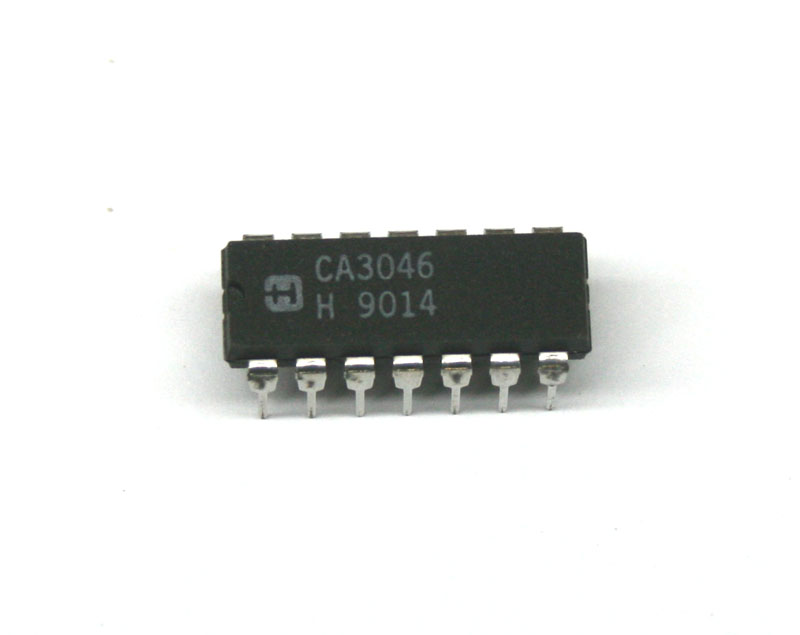 IC, 3046 transistor array