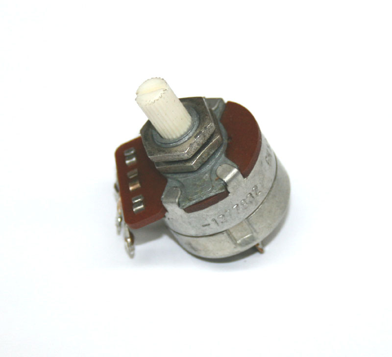 Potentiometer, 500K rotary, with switch