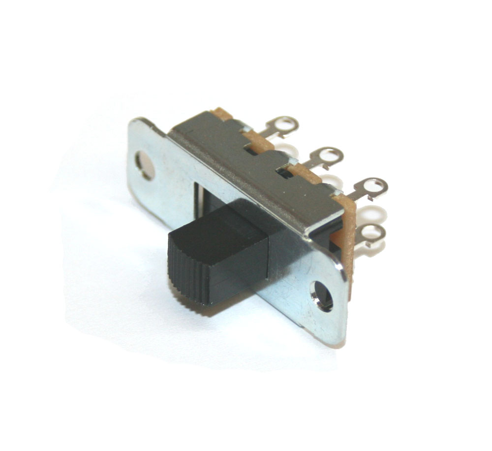 Slide switch, 2-position