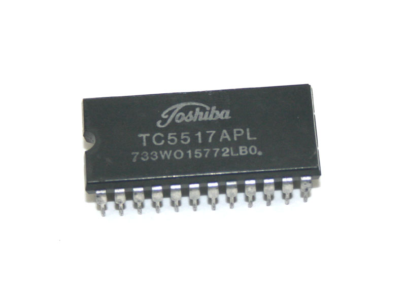 IC, TC5517APL static CMOS RAM