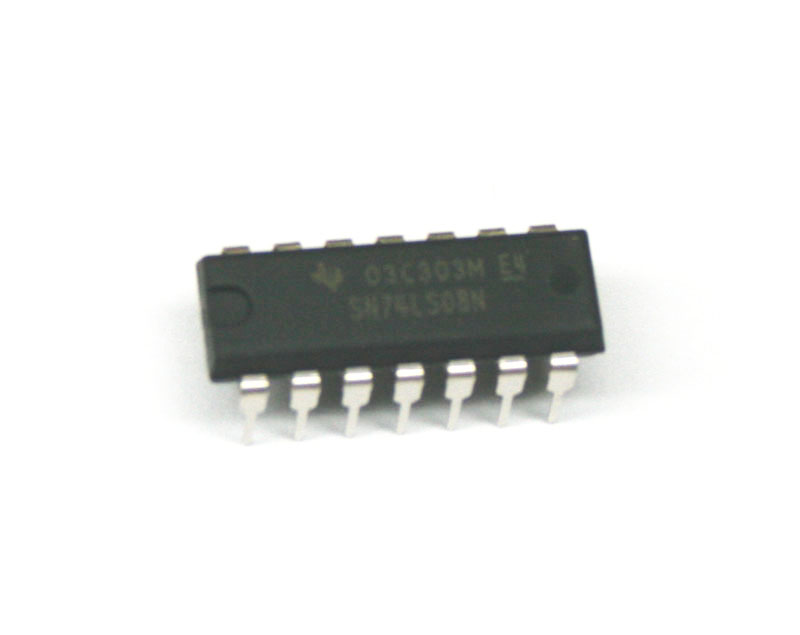 IC, 74LS08N quad gate