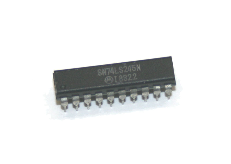 IC, 74LS245 bus transceiver