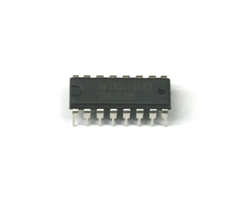 IC, 4053 multiplexer switch