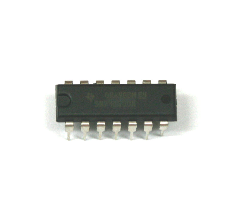 IC, 74LS00N quad gate
