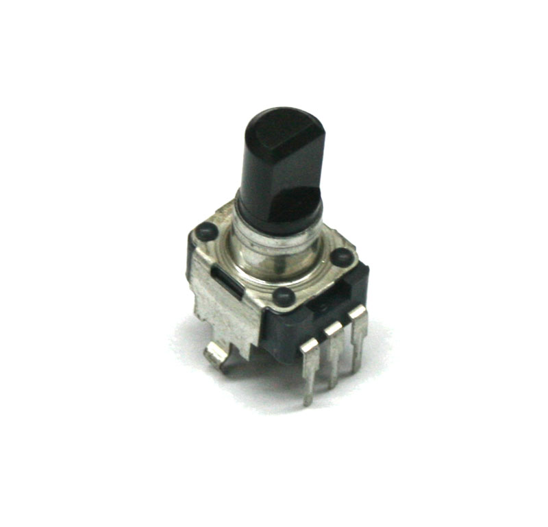 Potentiometer, 10KB rotary with center detent