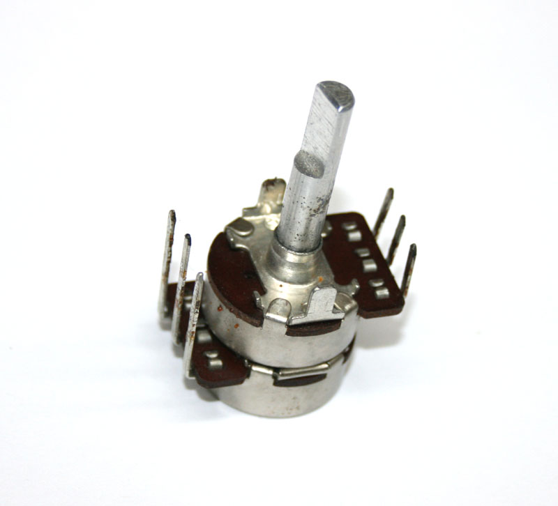 Potentiometer, dual rotary