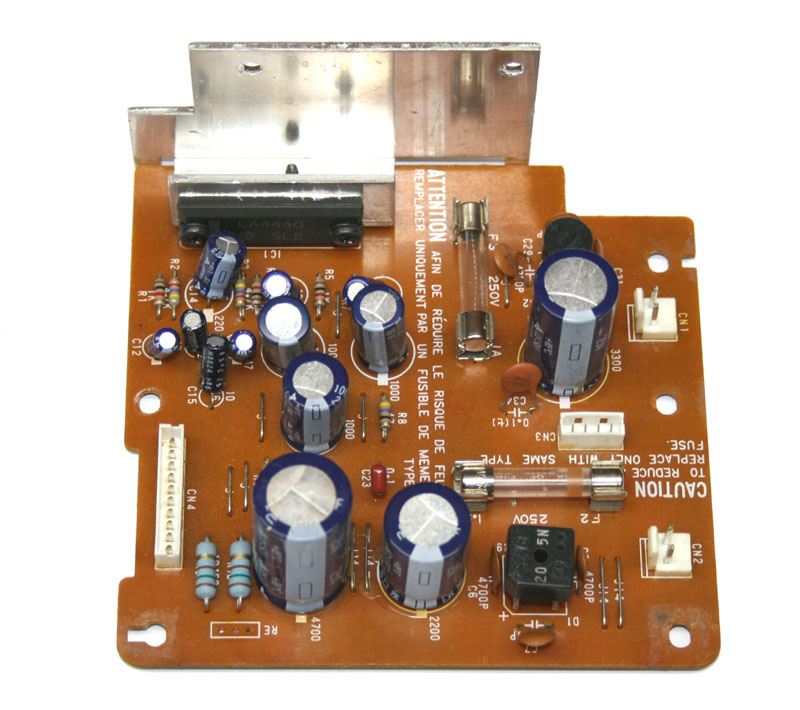 Power supply board, Yamaha
