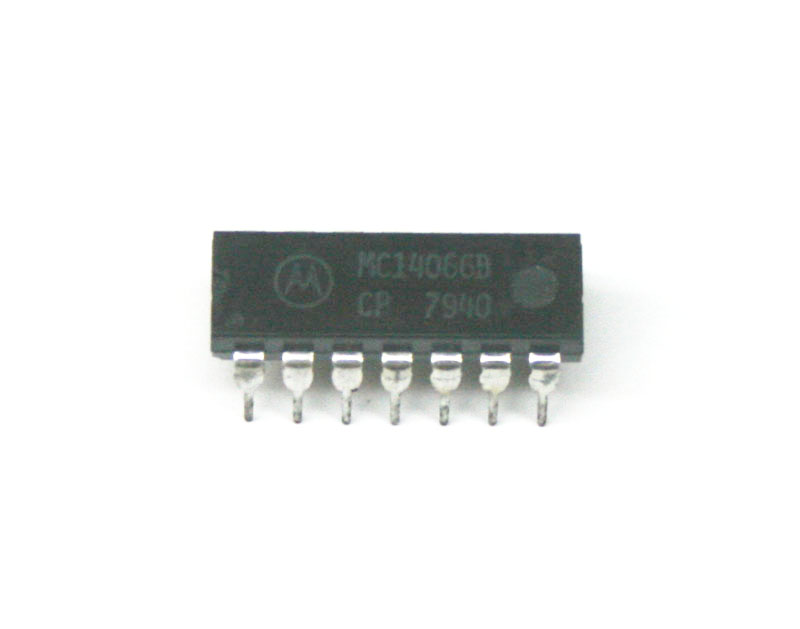 IC, 4066 quad bilateral switch