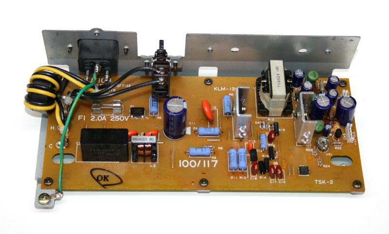 Power supply board, Korg