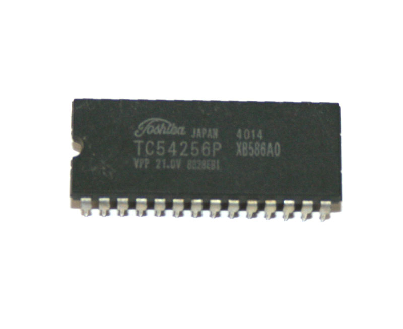 IC, TC54256P CMOS memory chip