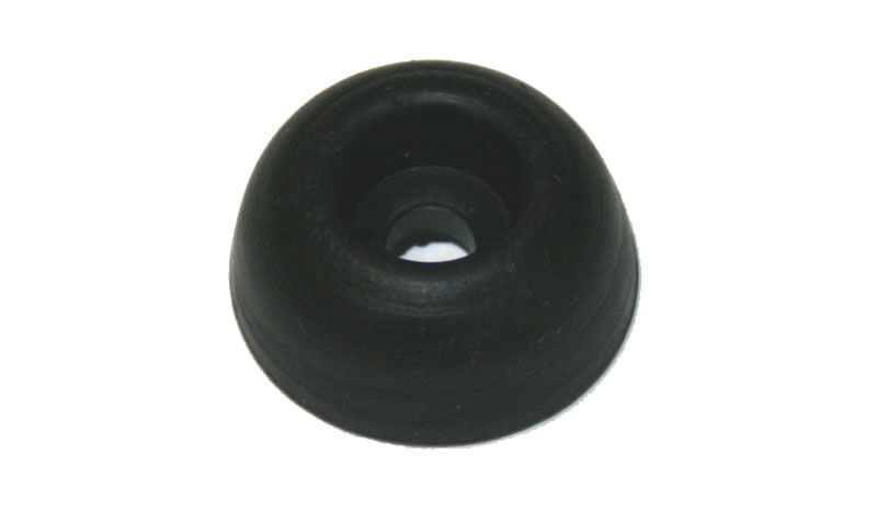Rubber foot, 3/8-inch tall