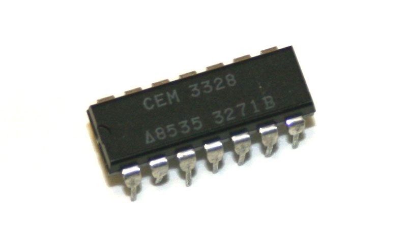 IC, CEM3328 filter chip