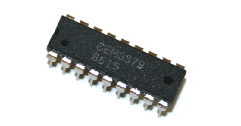 IC, CEM3379 signal processor chip