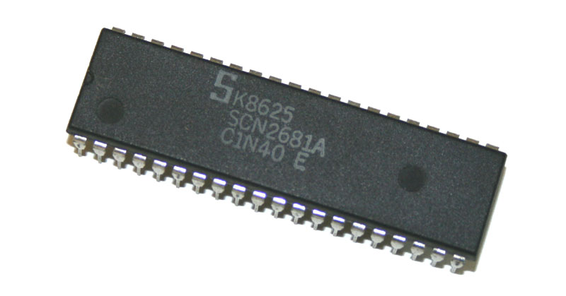 IC, 2681 UART chip