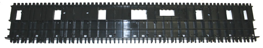 Keybed chassis, for 61-note keybed