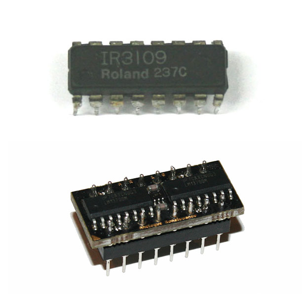 IC, IR3109 Roland VCF chip