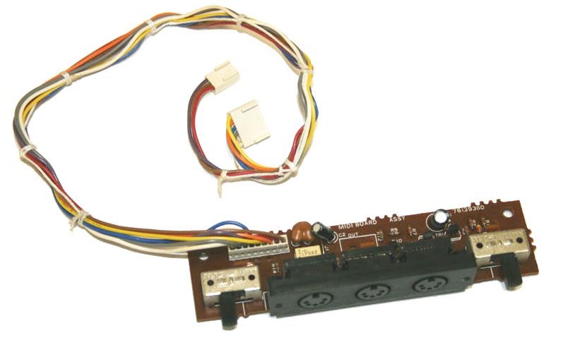 Midi In Problem Juno 106 - Gearslutz