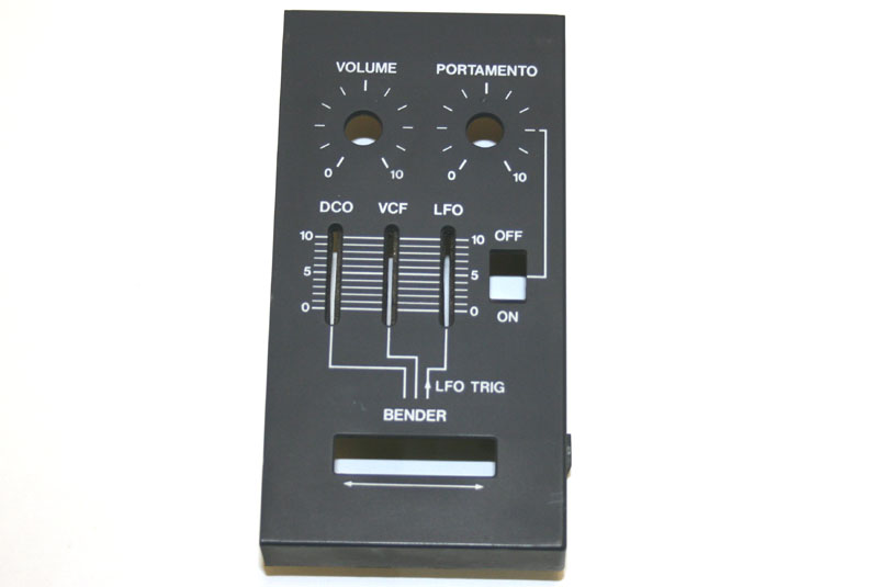 Pitch bend panel, Roland Juno-106