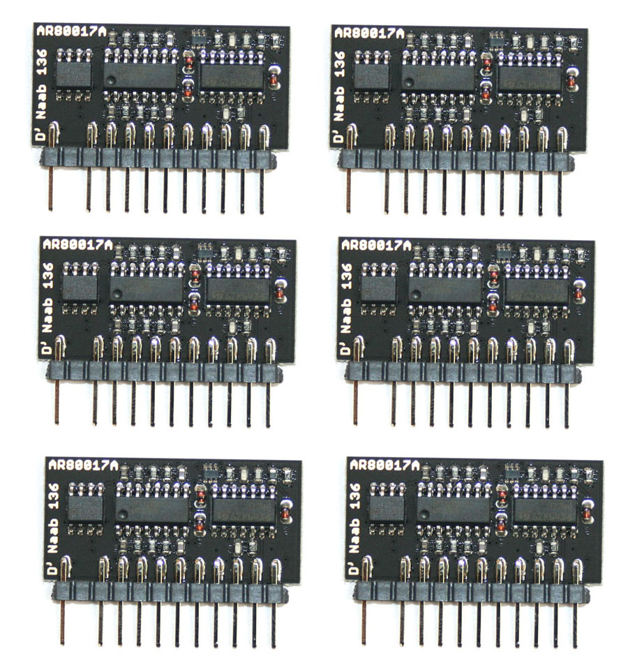 Voice chips, Roland 80017A clone, set of 6