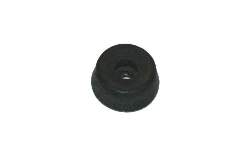 Rubber foot, 1/4-inch tall