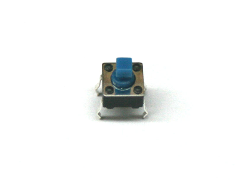 Pushbutton tact switch, 7.3mm, 4-pin