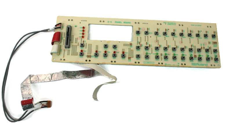 Panel board for Roland D5