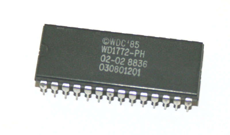 IC, 1772 disk drive controller chip