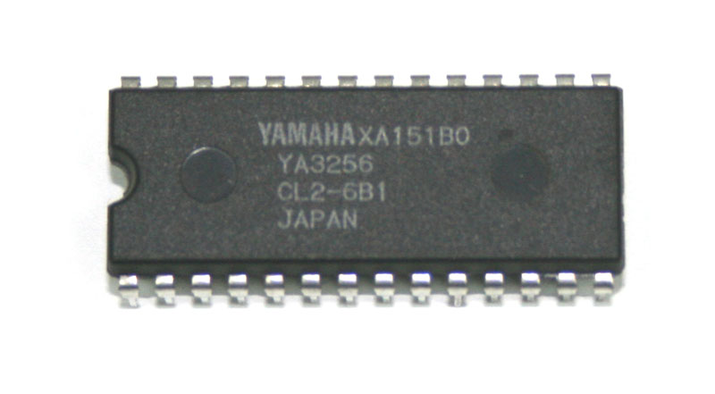 IC, Yamaha YA3256 mask ROM chip