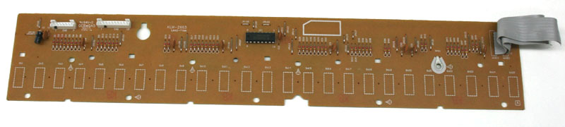 Key contact board (KLM-2663), 25-note, Korg