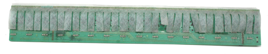 Roland Keyboard Contact Board