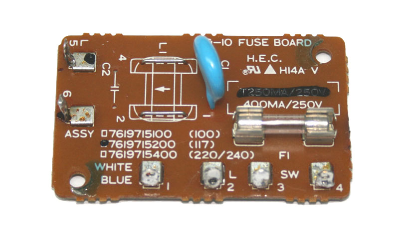 Fuse board, for Roland D-10