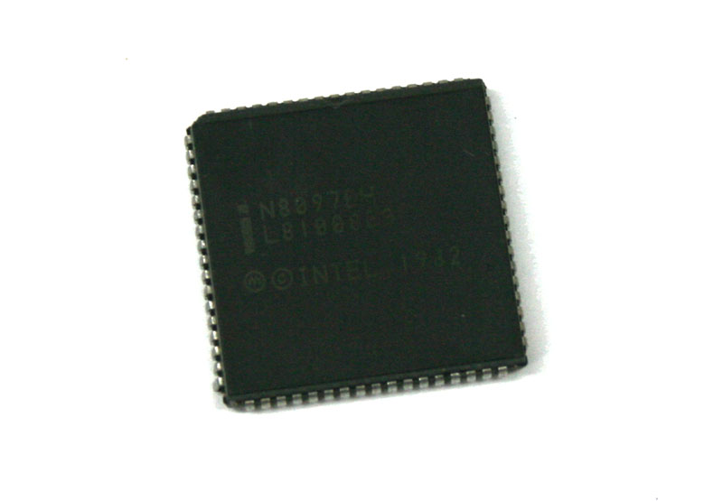 IC, Intel N8097BH CPU chip