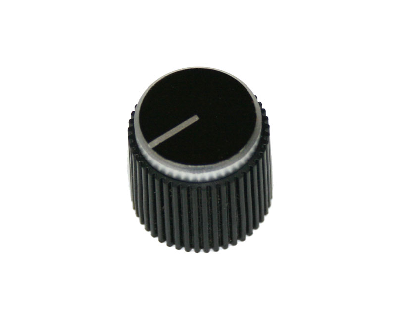 panel knob for sequential circuits this is the black faced knob the