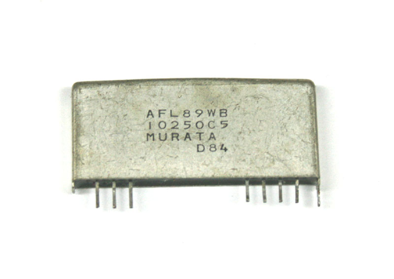 IC, AFL89WB Murata filter chip