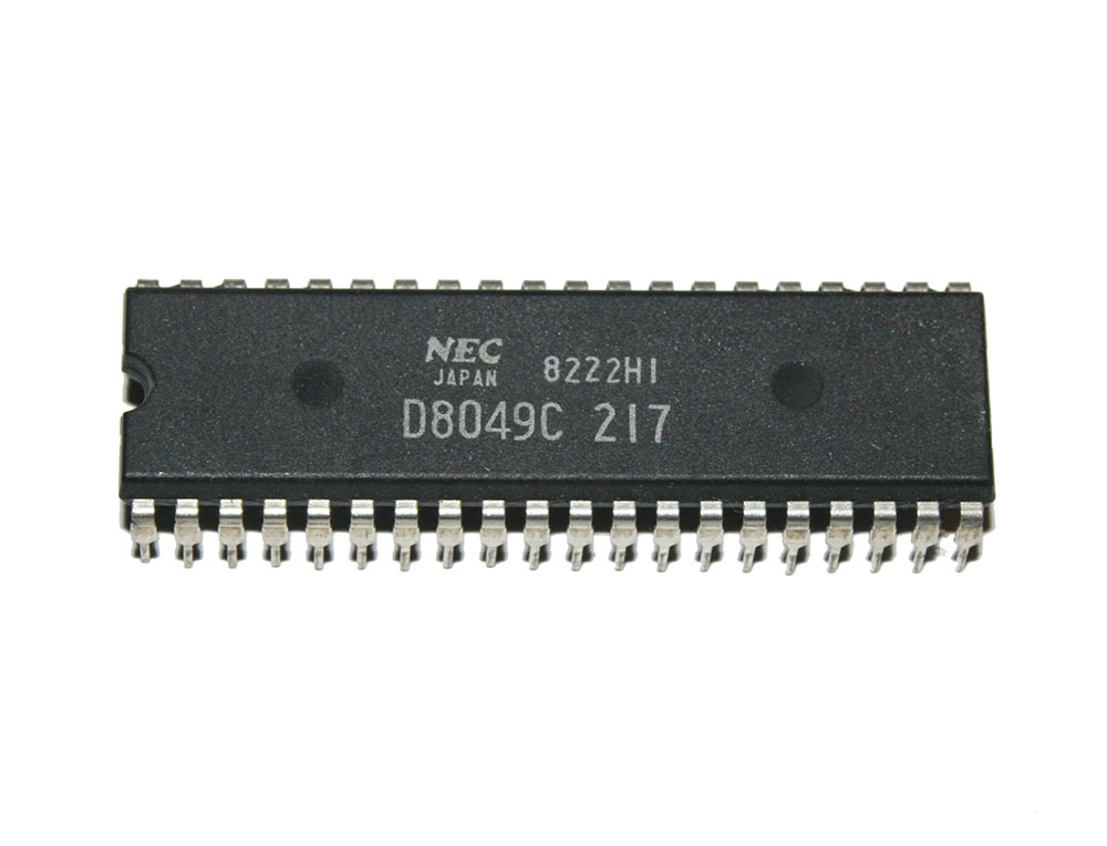 IC, D8049C CPU chip